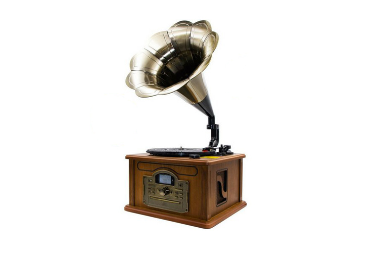 Lauson retro Bluetooth Gramophone